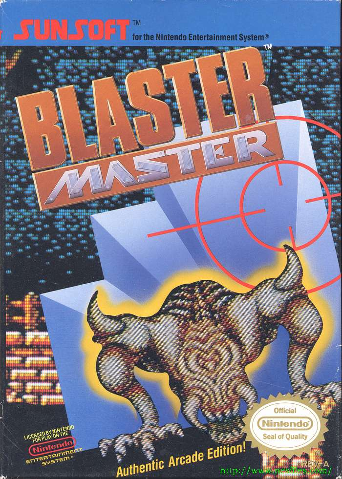 headcaseGames-Blog: Retro Game of the Day! Blaster Master