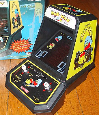 There's even an original 2-Player simultaneous feature included in this  unit (note the two joysticks) - again, it is awkward, but still quite a  blast to ...