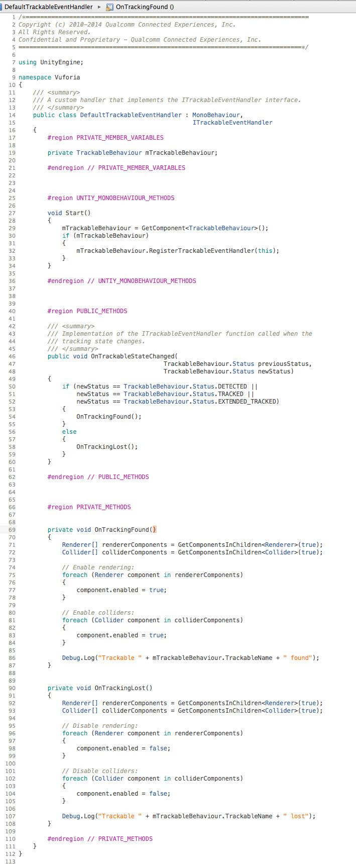 Unity - Text Meshes not disabling Mesh Renderer | Vuforia